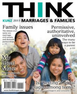 Download Genuine Test Bank for THINK Marriages and Families, 1st Edition: Kunz 0205167608, 9780205167609
