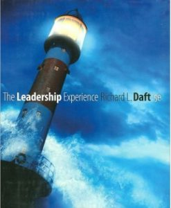 Download Genuine Test Bank for The Leadership Experience, 5th Edition: Richard L. Daft, 143904211X, 9781439042113