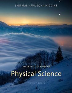 Download Genuine Test Bank for An Introduction to Physical Science, 13th Edition, Shipman, 1133109098, 9781133109099