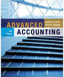 Download Genuine Test Bank for Advanced Accounting, 5th Edition, Jeter, 1118022297, 9781118022290