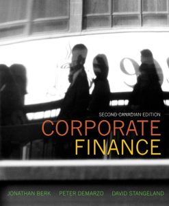 Download Genuine Test Bank for  Corporate Finance