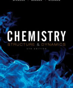 Download Genuine Test Bank for  Chemistry: Structure and Dynamics