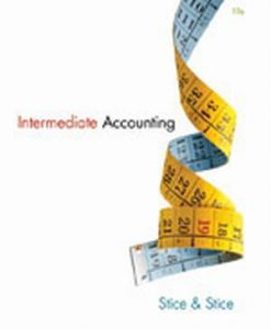 Download Genuine Solution Manual for  Intermediate Accounting
