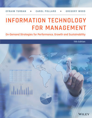 Test Bank for Information Technology for Management: On-Demand Strategies for Performance Growth and Sustainability 11e Turban