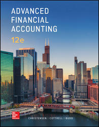 Test Bank Advanced Financial Accounting 12E Christensen