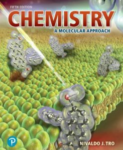 Test Bank for Chemistry: A Molecular Approach, 5th Edition By Nivaldo J. Tro, ISBN-13: 9780134989761