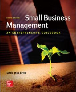 Solution Manual for Small Business Management 8th Edition Byrd