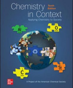Test Bank for Chemistry in Context 10th Edition American Chemical Society