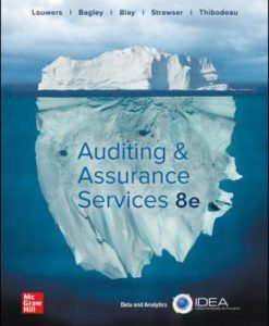 Test Bank for Auditing & Assurance Services 8th Edition Louwers