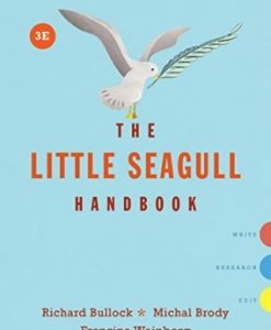 Test Bank for The Little Seagull Handbook with Exercises 3rd Edition Brody