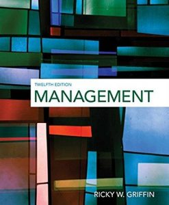 Test Bank for Management 12th Edition Griffin