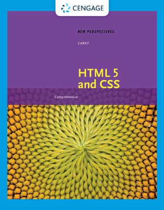 Test Bank for New Perspectives on HTML 5 and CSS: Comprehensive 8th Edition Carey