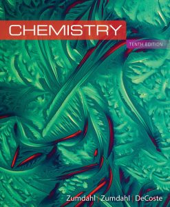 Test Bank for Chemistry 10th Edition Zumdahl