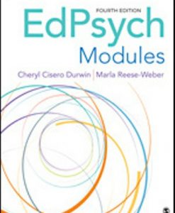 Test Bank for EdPsych Modules 4th Edition Durwin